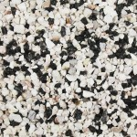 Black and White Flint 3-8mm 1