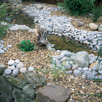 Scottish Cobbles, Welsh Cobbles and Golden Gravel
