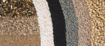 Varied choice of aggregates for resin-bound and bonded projects