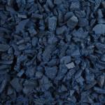 Blue Rubber Landscape Chippings 1