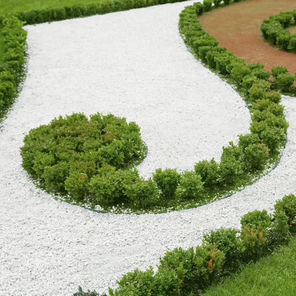 polar white gravel 10mm landscaping specialised
