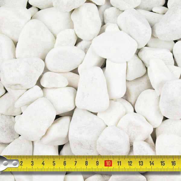 Polar White Pebbles 20 40mm Landscaping Specialised