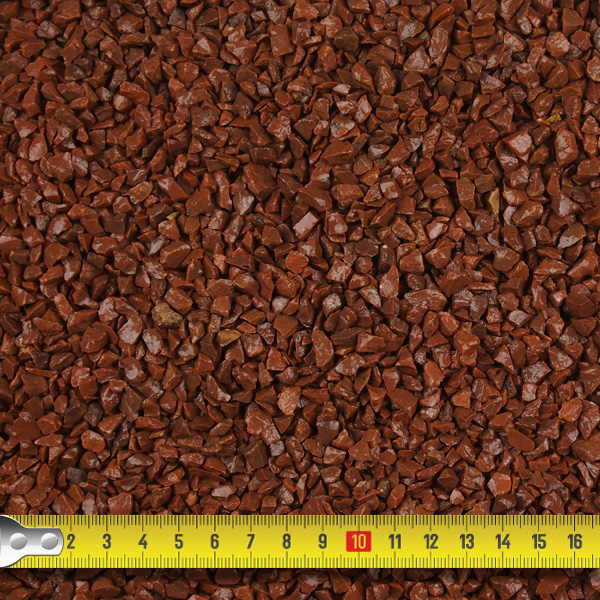Red Granite Chippings 6mm Landscaping Specialised