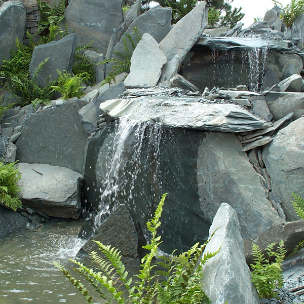 Slate Feature Stones Landscaping Specialised