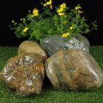 Welsh Quartz Boulders 200-400mm 1
