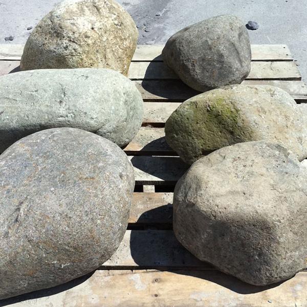 Welsh quartz boulders 300 600mm landscaping specialised for Landscaping rocks quartz
