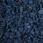 Blue Rubber Playground Chippings 1