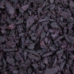 Plum Rubber Playground Chippings 1