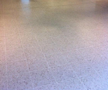 Tiled Terrazzo flooring